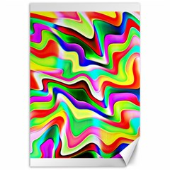 Irritation Colorful Dream Canvas 24  x 36