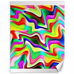 Irritation Colorful Dream Canvas 36  x 48