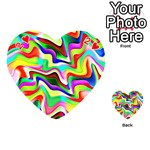Irritation Colorful Dream Playing Cards 54 (Heart)  Front - Heart2