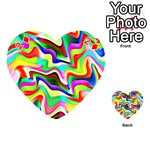 Irritation Colorful Dream Playing Cards 54 (Heart)  Front - Diamond2
