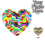 Irritation Colorful Dream Playing Cards 54 (Heart)  Front - Diamond8