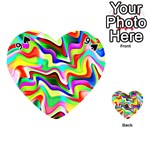 Irritation Colorful Dream Playing Cards 54 (Heart)  Front - Spade9
