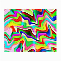 Irritation Colorful Dream Small Glasses Cloth (2 Side) by designworld65