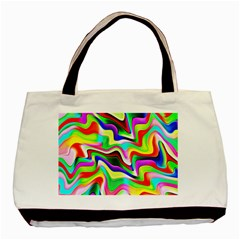 Irritation Colorful Dream Basic Tote Bag (Two Sides)