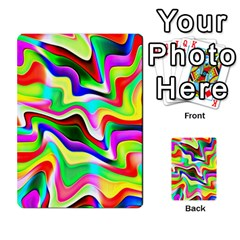 Irritation Colorful Dream Multi Purpose Cards (rectangle)  by designworld65