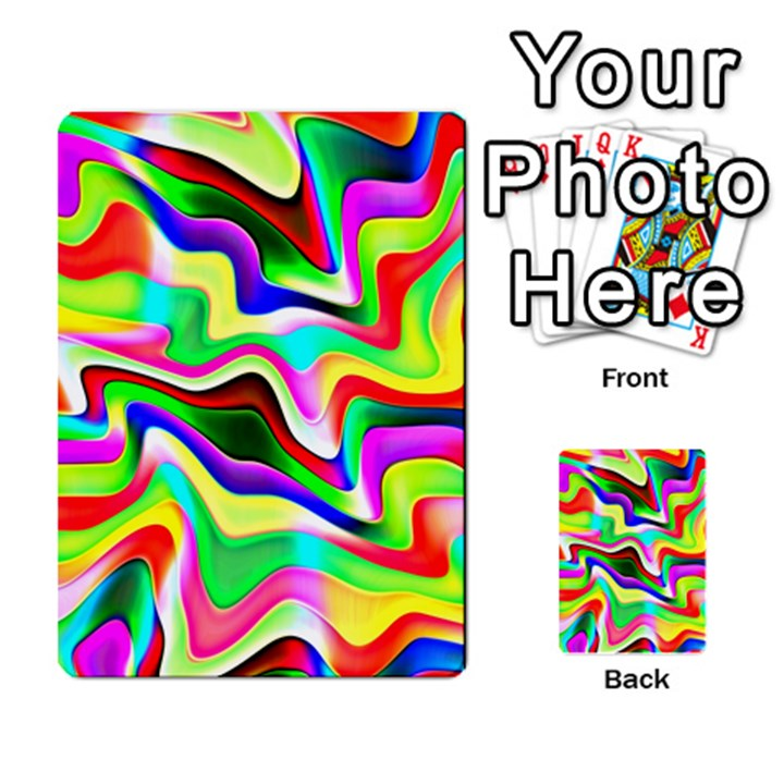 Irritation Colorful Dream Multi-purpose Cards (Rectangle)