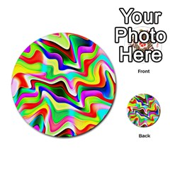 Irritation Colorful Dream Multi-purpose Cards (Round)