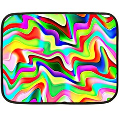 Irritation Colorful Dream Fleece Blanket (Mini)