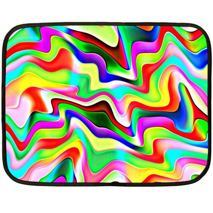 Irritation Colorful Dream Fleece Blanket (Mini)