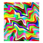 Irritation Colorful Dream Shower Curtain 66  x 72  (Large)  58.75 x64.8 Curtain