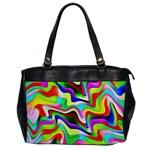 Irritation Colorful Dream Office Handbags