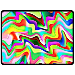 Irritation Colorful Dream Fleece Blanket (Large)