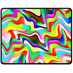 Irritation Colorful Dream Fleece Blanket (Medium)