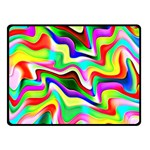 Irritation Colorful Dream Fleece Blanket (Small) 50 x40 Blanket Front