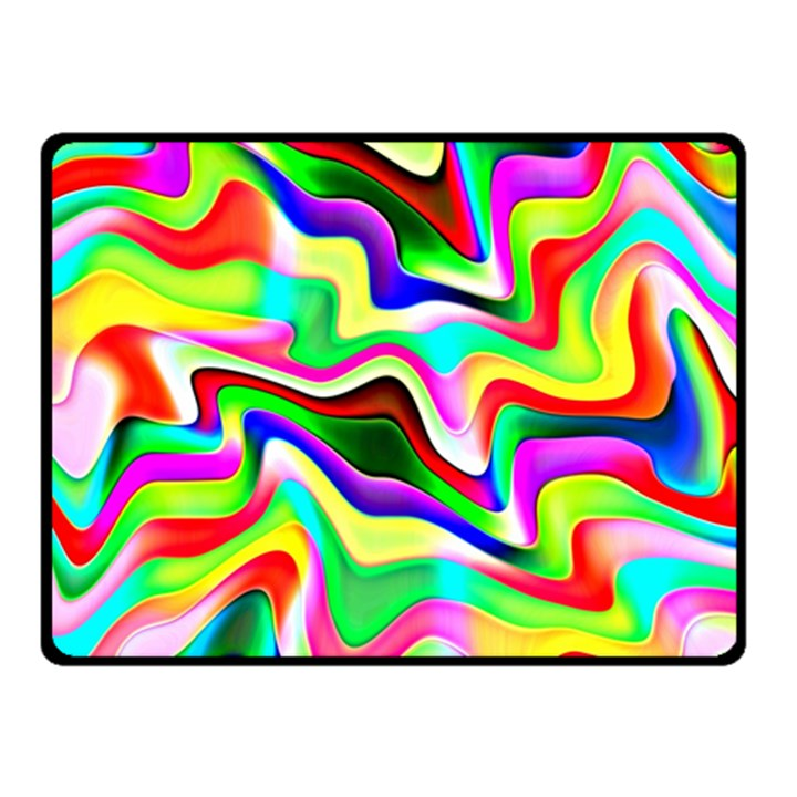 Irritation Colorful Dream Fleece Blanket (Small)