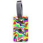 Irritation Colorful Dream Luggage Tags (One Side)  Front
