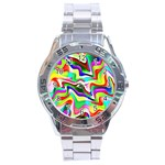 Irritation Colorful Dream Stainless Steel Analogue Watch Front