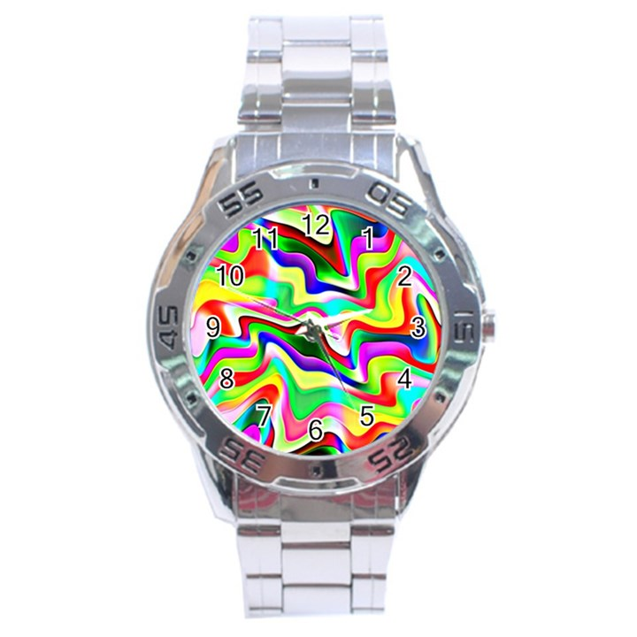 Irritation Colorful Dream Stainless Steel Analogue Watch