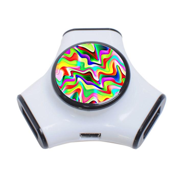 Irritation Colorful Dream 3-Port USB Hub