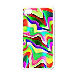 Irritation Colorful Dream Apple iPhone 4 Case (White)