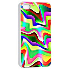 Irritation Colorful Dream Apple Iphone 4/4s Seamless Case (white) by designworld65