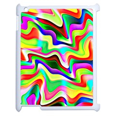 Irritation Colorful Dream Apple iPad 2 Case (White)