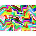 Irritation Colorful Dream BOY 3D Greeting Card (7x5) Back