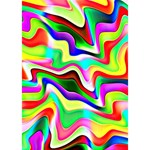 Irritation Colorful Dream Peace Sign 3D Greeting Card (7x5) Inside