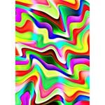 Irritation Colorful Dream Circle 3D Greeting Card (7x5) Inside