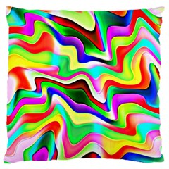 Irritation Colorful Dream Large Cushion Case (Two Sides)