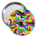 Irritation Colorful Dream 3  Handbag Mirrors