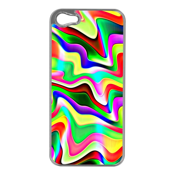 Irritation Colorful Dream Apple iPhone 5 Case (Silver)