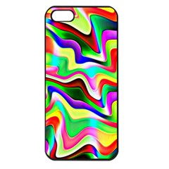 Irritation Colorful Dream Apple iPhone 5 Seamless Case (Black)