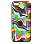 Irritation Colorful Dream Apple iPhone 5 Seamless Case (Black) Front