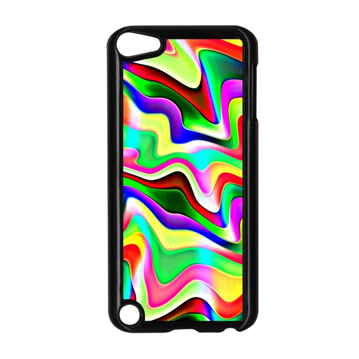 Irritation Colorful Dream Apple iPod Touch 5 Case (Black)