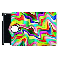 Irritation Colorful Dream Apple iPad 2 Flip 360 Case
