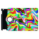 Irritation Colorful Dream Apple iPad 2 Flip 360 Case Front