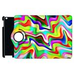 Irritation Colorful Dream Apple iPad 3/4 Flip 360 Case