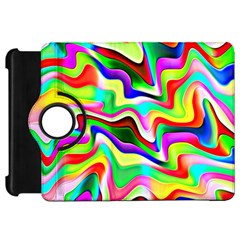 Irritation Colorful Dream Kindle Fire Hd Flip 360 Case by designworld65