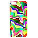 Irritation Colorful Dream Apple iPhone 5 Hardshell Case with Stand
