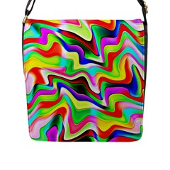 Irritation Colorful Dream Flap Messenger Bag (L)