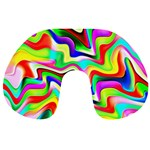 Irritation Colorful Dream Travel Neck Pillows Front