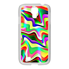 Irritation Colorful Dream Samsung GALAXY S4 I9500/ I9505 Case (White)