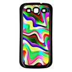 Irritation Colorful Dream Samsung Galaxy S3 Back Case (Black) Front