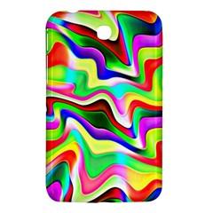 Irritation Colorful Dream Samsung Galaxy Tab 3 (7 ) P3200 Hardshell Case  by designworld65