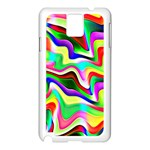 Irritation Colorful Dream Samsung Galaxy Note 3 N9005 Case (White) Front