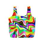 Irritation Colorful Dream Full Print Recycle Bags (S)  Back