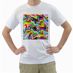 Irritation Colorful Dream Men s T Shirt (white)