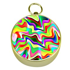 Irritation Colorful Dream Gold Compasses