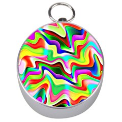 Irritation Colorful Dream Silver Compasses